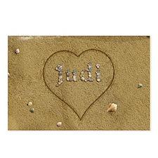 Judi Beach Love Postcards (Package of 8)