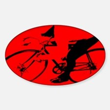 CYCLIST CREST Oval Decal