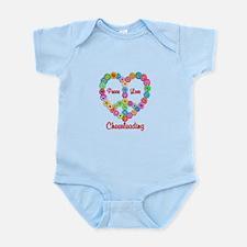 Camping Peace Love Infant Bodysuit