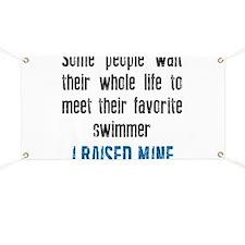 Favorite swimmer Banner