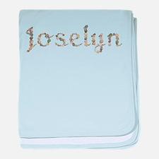 Joselyn Seashells baby blanket
