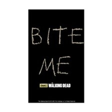 The Walking Dead Bite Me Sticker (rectangle)