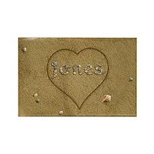 Jones Beach Love Rectangle Magnet