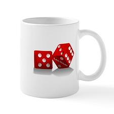 Las Vegas Red Dice Mug