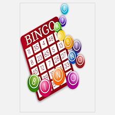 Las Vegas Bingo Card and Bingo Balls