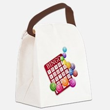Las Vegas Bingo Card and Bingo Ba Canvas Lunch Bag