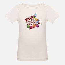Las Vegas Bingo Card and Bingo Balls T-Shirt