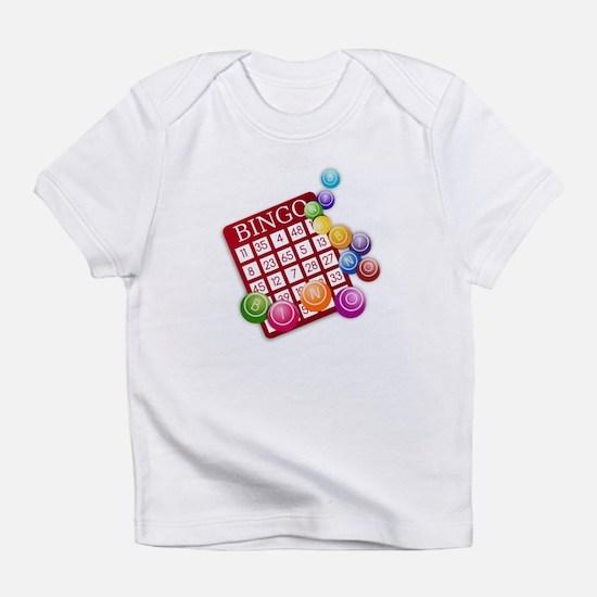 Las Vegas Bingo Card and Bingo Ball Infant T-Shirt