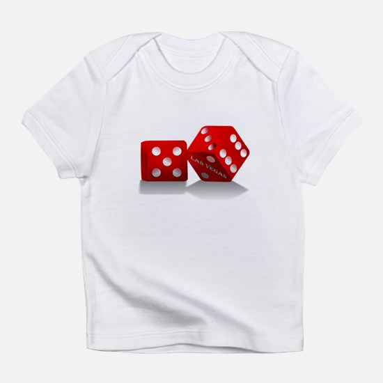 Las Vegas Red Dice Infant T-Shirt