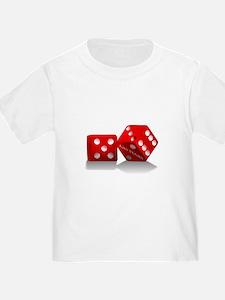 Las Vegas Red Dice T-Shirt