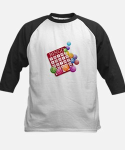 Las Vegas Bingo Card and Bingo Bal Baseball Jersey