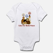 World Peace Cats Infant Bodysuit