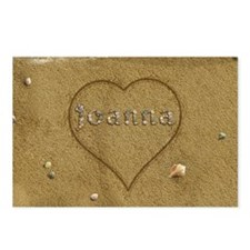Joanna Beach Love Postcards (Package of 8)