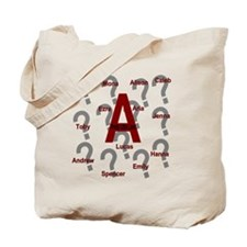 Who is A Collage?? Tote Bag
