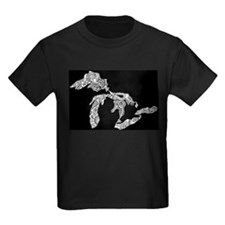 Great Lakes (white on black) T-Shirt
