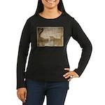 Shadow Kittens Women's Long Sleeve Dark T-Shirt