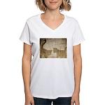Shadow Kittens Women's V-Neck T-Shirt