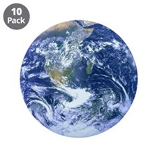 """The Blue Marble 3.5"""" Button (10 pack)"""