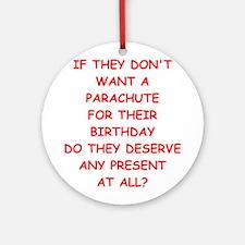 parachute Ornament (Round)