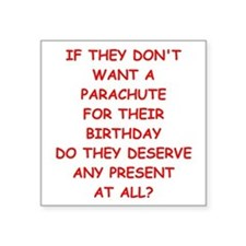 parachute Sticker