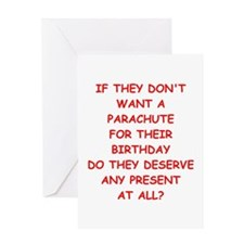parachute Greeting Cards