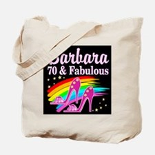 70TH PARTY GIRL Tote Bag