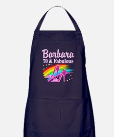70TH PARTY GIRL Apron (dark)