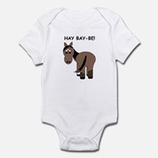 Hay Bay-Be! Horse Infant Bodysuit