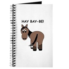 Hay Bay-Be! Horse Journal