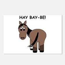 Hay Bay-Be! Horse Postcards (Package of 8)