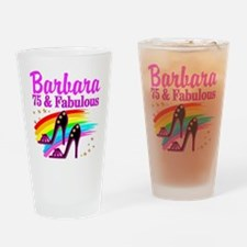 75TH CELEBRATION Drinking Glass