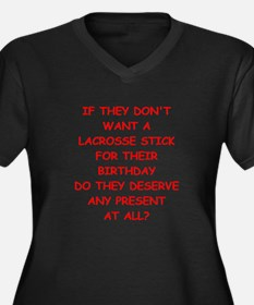 lacrosse Plus Size T-Shirt