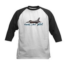 Cool Yer Jets - blue Tee