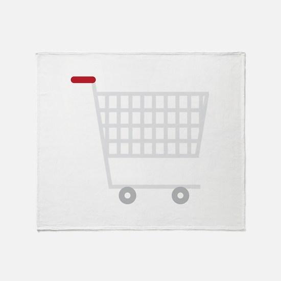 Shopping Cart Throw Blanket