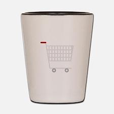 Shopping Cart Shot Glass