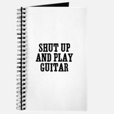 shut up and play guitar Journal