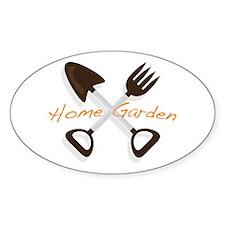 Home Garden Decal