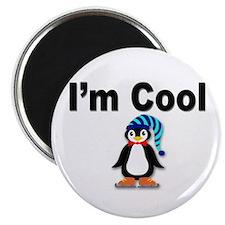 I'm Cool Penguin Magnet