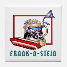 """FRANK-N-STEIN"" Tile Coaster"