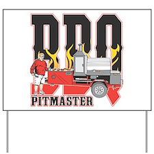 BBQ Pit master Yard Sign