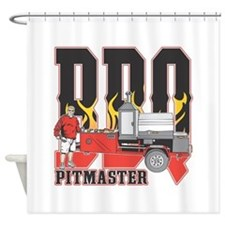 BBQ Pit master Shower Curtain