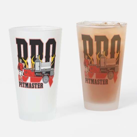 BBQ Pit master Drinking Glass