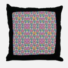 Futurama Zoidberg Pattern Throw Pillow