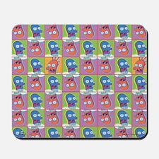 Futurama Zoidberg Pattern Mousepad
