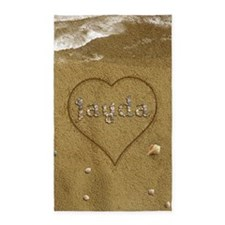 Jayda Beach Love Area Rug
