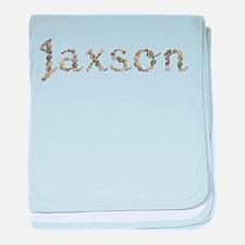 Jaxson Seashells baby blanket