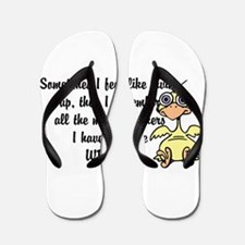 Adult humor, Dont give up Flip Flops