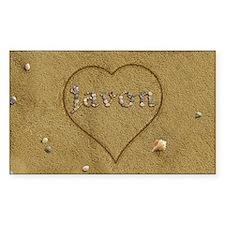 Javon Beach Love Decal