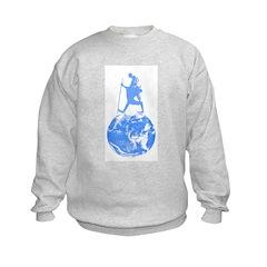 Gandhi on Gaia Sweatshirt