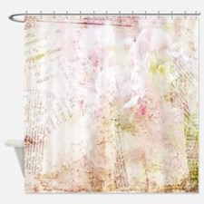Cute Victorian Shower Curtain